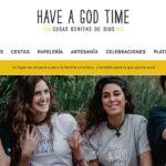 """Have a good time """"Cosas bonitas de Dios"""" – Regalos cristianos"""